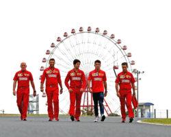 GP GIAPPONE F1/2019 - GIOVEDÌ 10/10/2019