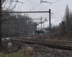 Parním vlakem na Královský advent na Křivoklátě 2018