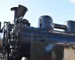 Parní lokomotiva - detail