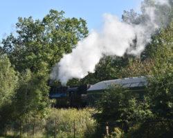 Jízda s parní lokomotivou