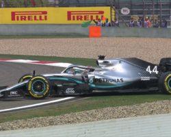 CHINESE GRAND PRIX - Lewis Hamilton