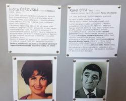 absolventi školy Judita Čeřovská a Karel Effa