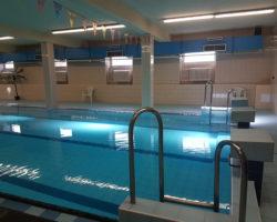 Obchodní akademie v Berouně bazén