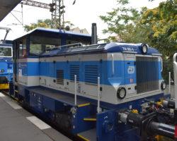 Pražský železniční den - Smíchov diesel lokomotiva