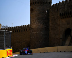 F1 Baku free practice 2019 with Alex Albon