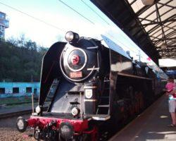 Šlechtična na Hlavním nádraží v Praze