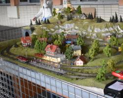 Pražský železniční den- Smíchov - modelové-kolejiště