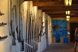 Terst San Giusto - expozice zbraní