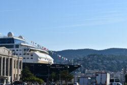 Terst-pohled z přístavu