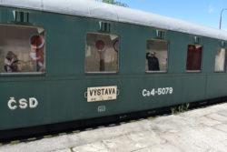 muzejní expozice KHKD vlečka Kněževes